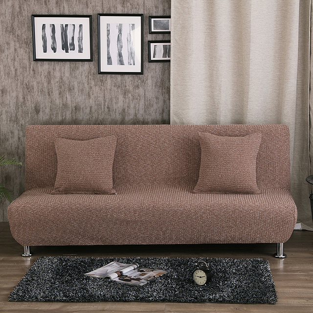 width of a sofa bed zuo modern carnival knitting fabric spring cover no handrail suitable 1 5 m 9 height 0 8 shown below