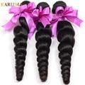 Brazilian Virgin Hair Loose Wave Unprocessed Human Hair Loose Curly Cheap Brazilian Hair 4 Bundles Brazilian Wavy Hair Bundles