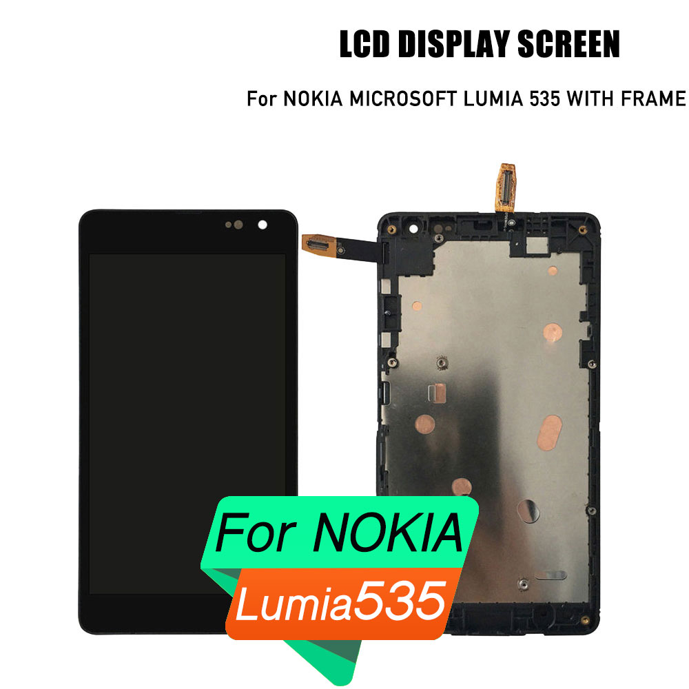 PrepairP LCD touch screen for Microsoft Nokia Lumia 535 lcd display touch screen for Nokia lcd