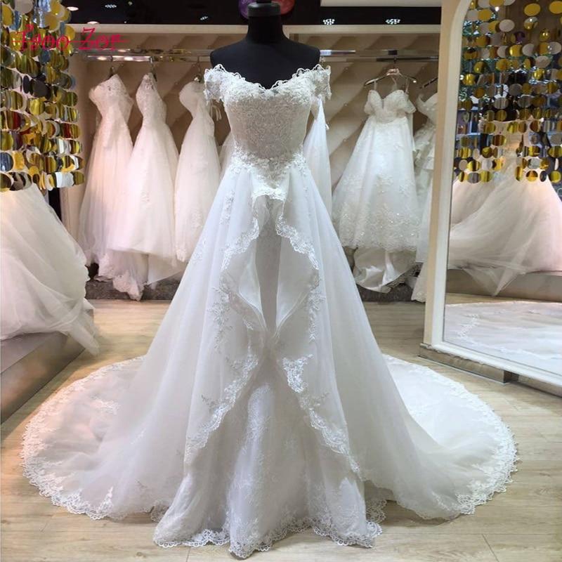 Amdml फैशनेबल फीता मरमेड - शादी के कपड़े