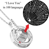 100 Languages of I Love You Necklace