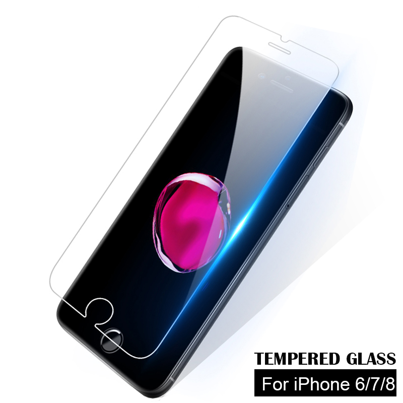BLOSSOM Tempered Glass For IPhone 6 6s 7 8 Plus Glass For IPhone 6s Protective Glass For IPhone 6 7 8 6s Plus Screen Protector