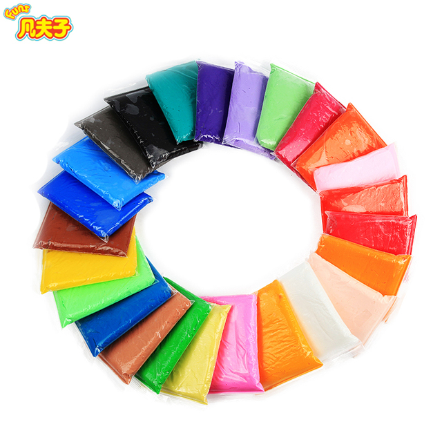 24 Colors 13gset Cheap Modeling Clay Slime Toy Space Diy Fimo