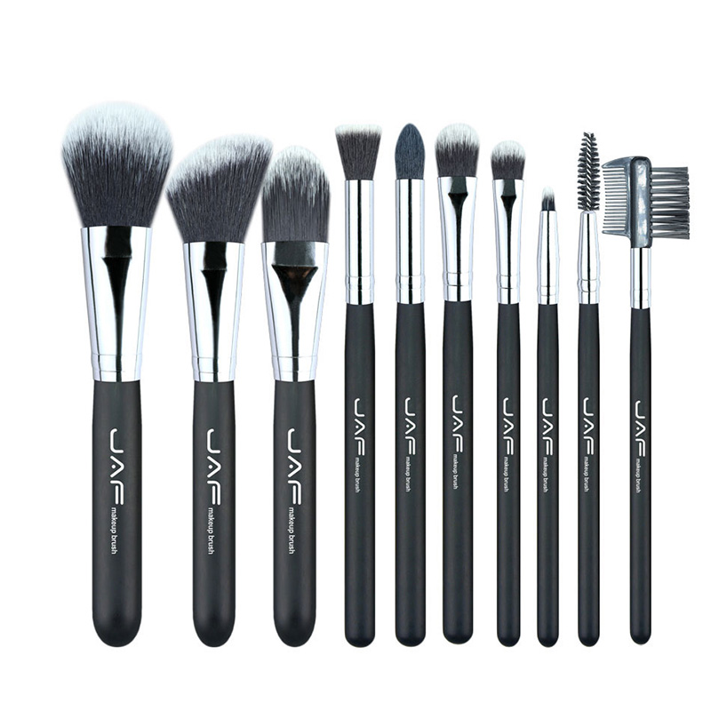 Professional 10 pcs Fashionable Cosmetic Makeup Brush Set Soft Fiber Taklon Make Up Brushes Tool Kit M03488 free shipping durable 32pcs soft makeup brushes professional cosmetic make up brush set