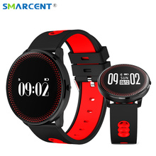 Smarcent CF007 Bluetooth Smart Band Фитнес трекер Смарт-браслет сердечного ритма Мониторы смарт-браслет с вызова SMS напоминание