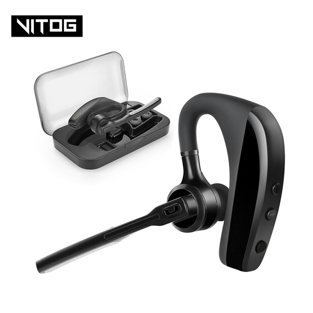 K10 Bluetooth Earphone Wireless Headphones Business earbud Handsfree Driving Headset with Mic for iPhone samsung huawei xiaomi