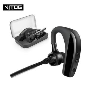Image 1 - K10 Bluetooth Kopfhörer Drahtlose Kopfhörer Business ohrhörer Freisprecheinrichtung Fahren Headset mit Mic für iPhone samsung huawei xiaomi