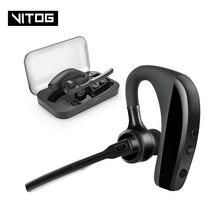 K10 Bluetooth Oortelefoon Draadloze Hoofdtelefoon Business oordopjes Handsfree Rijden Headset met Microfoon voor iPhone samsung huawei xiaomi
