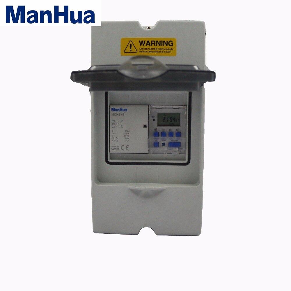 Boîte de minuterie numérique ManHua SC63A1 avec protection étanche