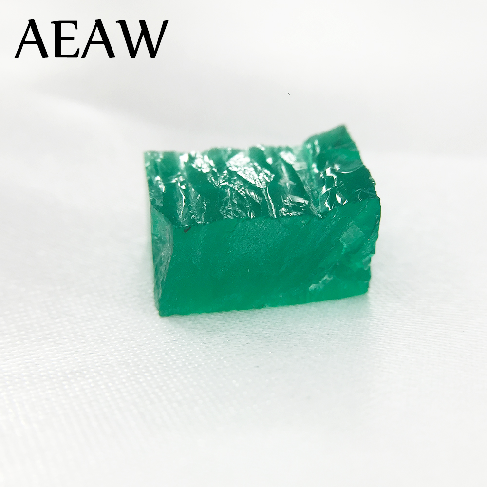 AEAW RaW Lab Created Colombia Emerald CCE Loose Gemstone for Jewelry about 9.5mmx6.7mm about 5.3ct CaratAEAW RaW Lab Created Colombia Emerald CCE Loose Gemstone for Jewelry about 9.5mmx6.7mm about 5.3ct Carat