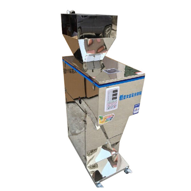 100 2500g Semi automatic rice grain weighing and packing machine