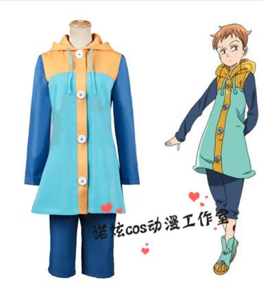 Grizzly s Sin of Sloth Harlequin king The Seven Deadly Sins nanatsu no taizai cosplay costume