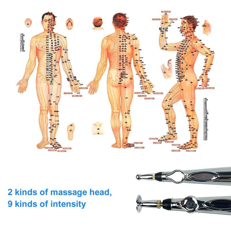 Acupunctuur Pen Energie Meridiaan Pen Meridiaan Penpunt Elektronisch - School en educatieve benodigdheden - Foto 4