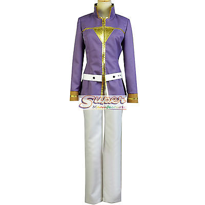 DJ DESIGN Snow White with the Red Hair Second Prince Zen Wistalia Knight Cosplay Costume