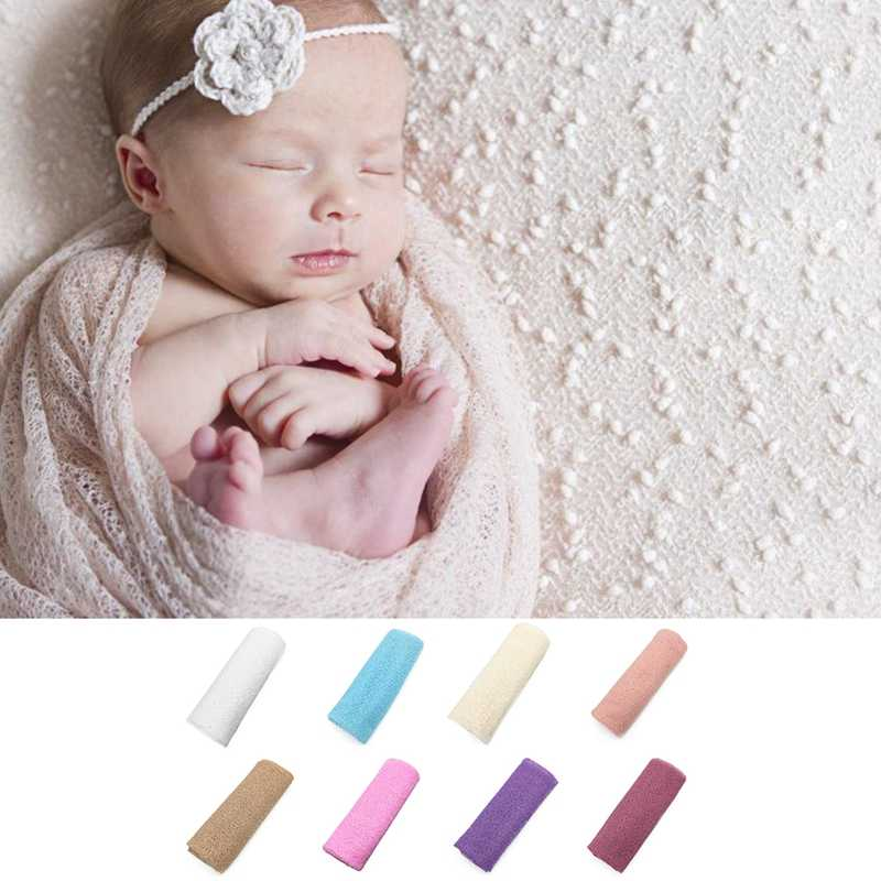 Newborn Baby Boys Girls Wrap Infant Photography Photo Prop Blanket Rug Backdrop W15