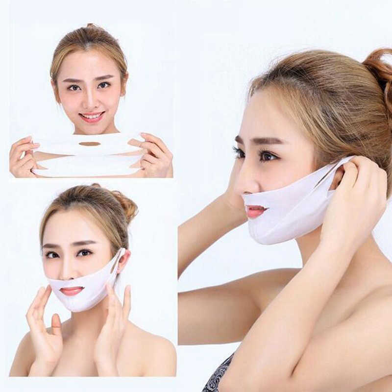"3/2/1Pcs Koreaanse Gezicht Lifting Visage ""V"" Vormige Facial Sheet Masker Gezicht Chin Afslanken lifting Gezicht Verstevigende Huidverzorging Producten TSLM1"
