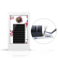 Easy Blooming Volume False Eyelashes Extension Natural Auto Bloom Grafting Fanning Thick Make Plant Soft B/C/D/DD/D+