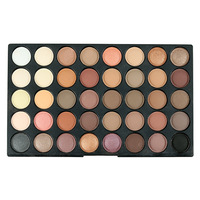120 Colors Beauty Glazed Makeup Eyeshadow Palette the Weather Collection Matte Shimmer Glitter Pigment Eye Shadow Makeup Pallete