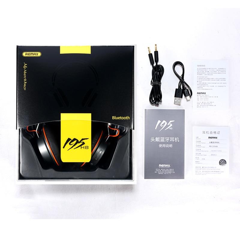 Auricular Bluetooth inalámbrico Estéreo Remax 195HB Auricular - Audio y video portátil - foto 6