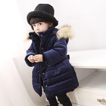 Myudiの女の子冬ジャケット子供服綿パッド入りフード付き子供コート幼児服女の子パーカーランファンジャケット&コート