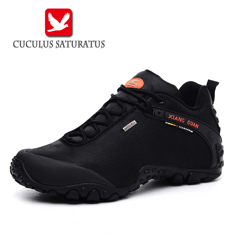 XIANG GUAN Original Men's Outdoor Sports Athletic Shoes Running Shoes Sneakers Trainers Men Traveling Shoes Drop Shipping 81283 2017brand sport mesh men running shoes athletic sneakers air breath increased within zapatillas deportivas trainers couple shoes