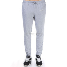 Men Long Pants Cotton Men's Muscle Brother Workout Fitness Pants Casual Sweatpants Jogger Spring Long Pants Skinny Slim Trousers