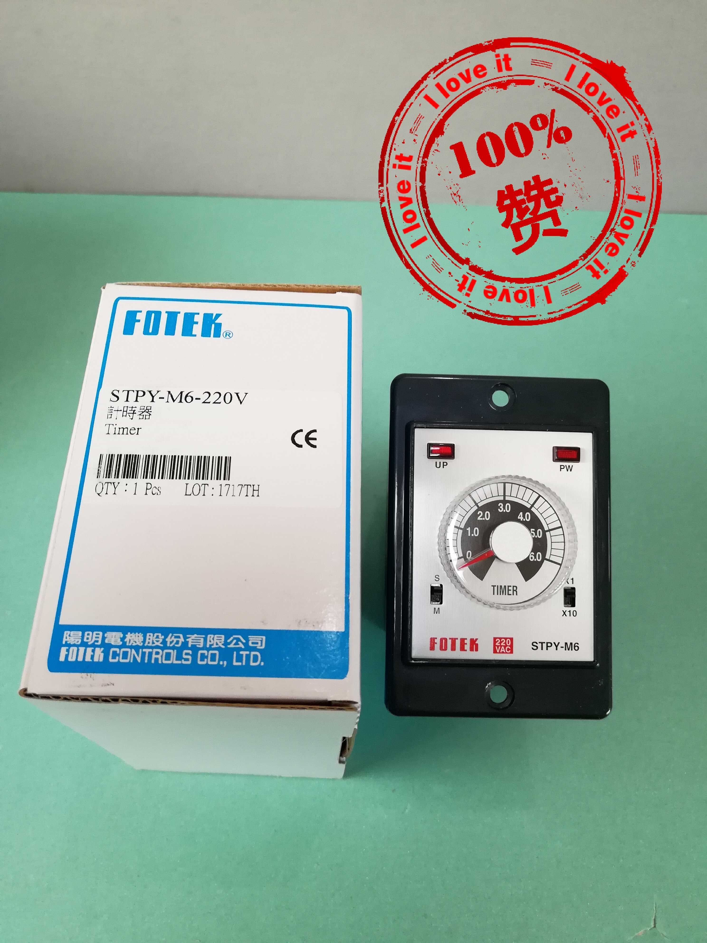 New Original Time Relay STPY-M6-220V Fake Penalty Ten