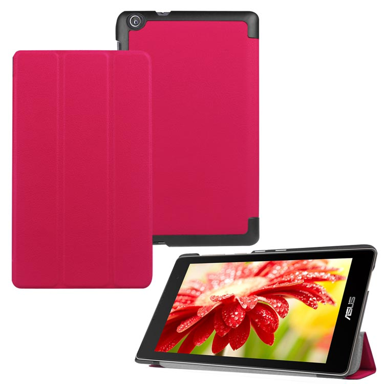New 3 Fold Luxury PU Leather Case Stand Cover For ASUS ZenPad 7.0 Z370CG Z370C Z370CL Tablet PC #S0063