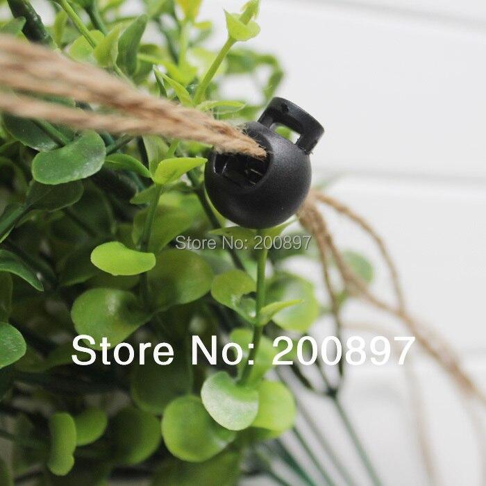Новые черные пластиковые пробки для одежды тумблер стопор нейлоновый замок для шнура 6 мм отверстие 500 шт./Партия аксессуары