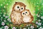diamond painting owl, diy diamond painting animal, diy diamond embroidery owl