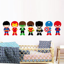 Superheroes Wall Sticker for Boys