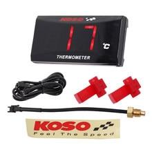 Medidor de temperatura para motocicleta, medidor de temperatura de água digital para nmax ybr125, termômetro para yamaha xmax250