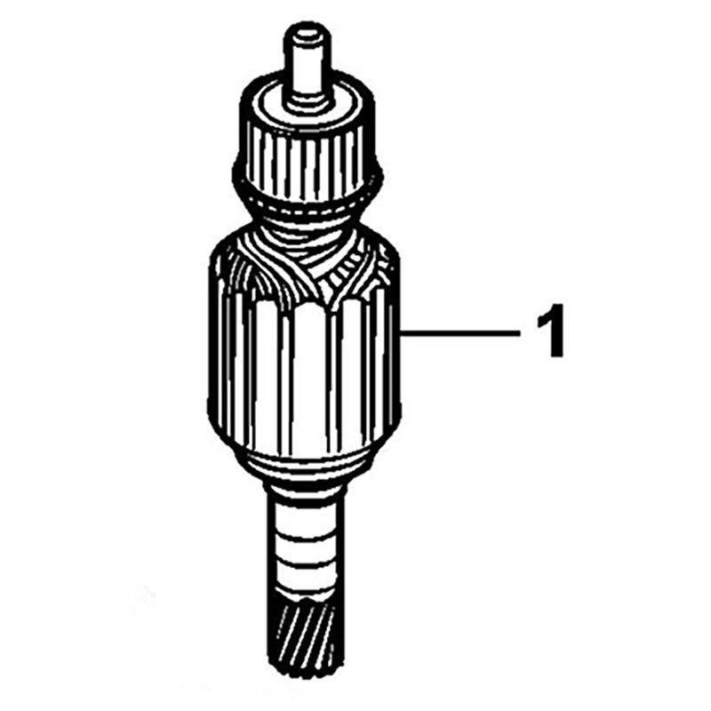 ARMATURE 230V Rotor 579837-02 Replace For Dewalt D25941K D25940K D25900K D25901K D25902K transmission n438742 replace for dewalt dcd792 dcd791