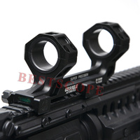 Tactical 25 4 30mm Universal Optic Scope Mount With Level Instrument For 20mm Picatinny Rail Scope
