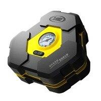 Portable DC 12V Inflatable Pump Triangular Design Car Air Compressor Auto Wheel Pressure Monitor For Vehicle