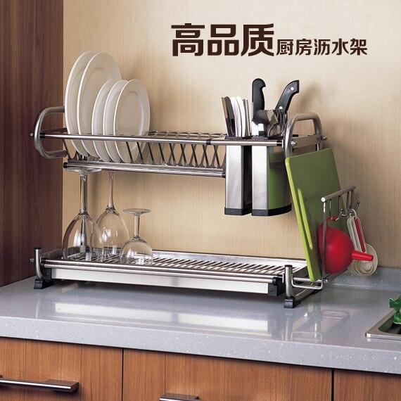 Cuisine polyvalente, double drain en acier inoxydable, filtre à eau avec planche à découper