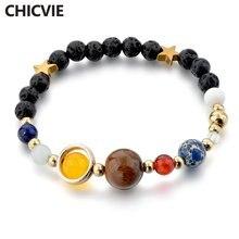 Женские богемные браслеты chicvie браслет ручной работы с восьмипланетной