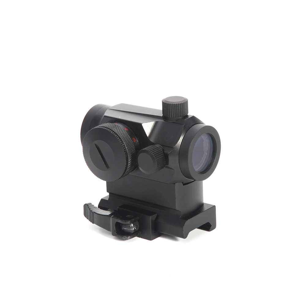 Red Dot Sight ScopeTactical Quick Release 1X24 Rifescope With 20mm Dovetail Rail Micro Reflex Red Green Dot Optical Sight Scope