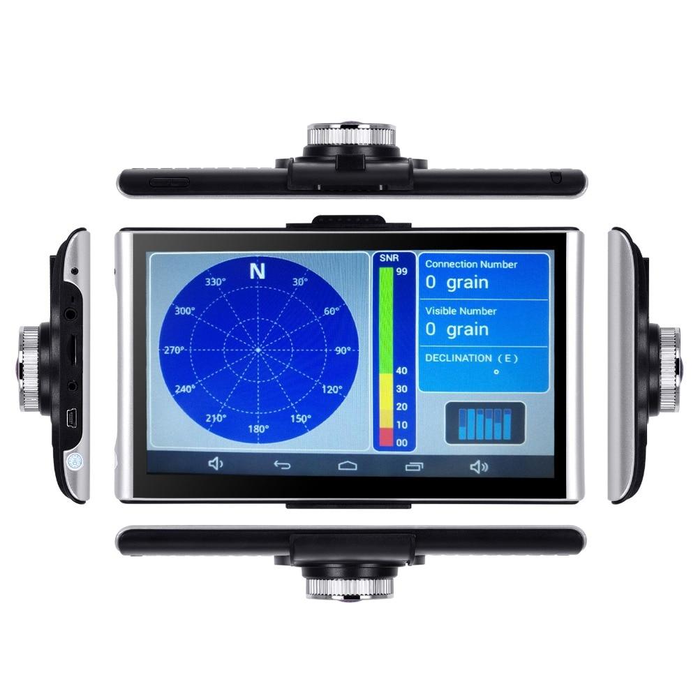 Xgody 7 inch Android Gps Dvrs Car Navigation 512M+ 8GB Navigator With Wifi  HD 1080p Dash Camera Video Recorder Fm AVIN Dashcam