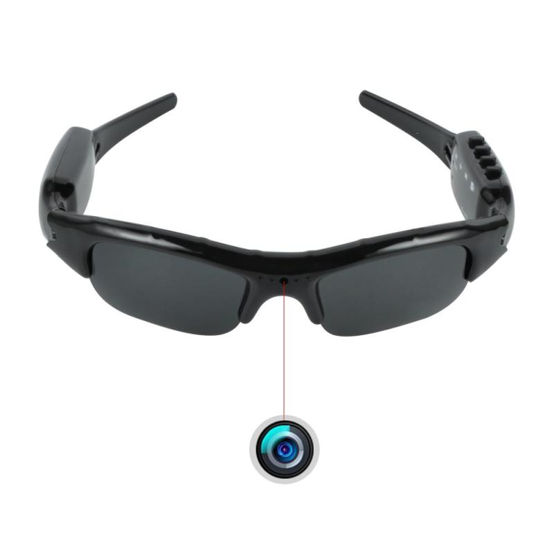 Sport Sunglasses Wearable Mini Camera Eyewear 1080P HD Bluetooth MP3 Player Video Recorder Outdoor 4 in 1 Mini Camcorder Camera