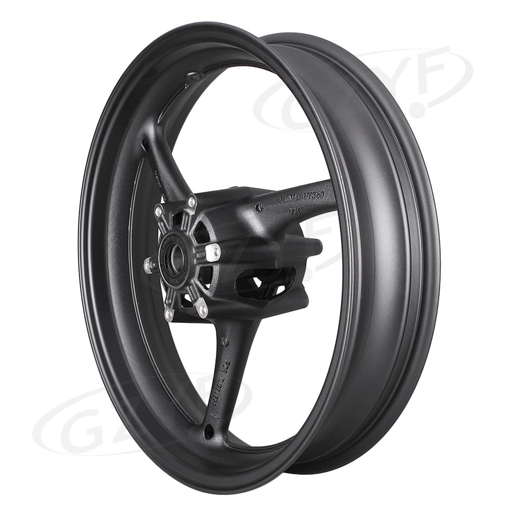 Motorcycle Front Wheel Rim For Suzuki GSXR 600/750 2008 2009 2010 K8 & GSXR 1000 2009-2016 Matte Black Alloy