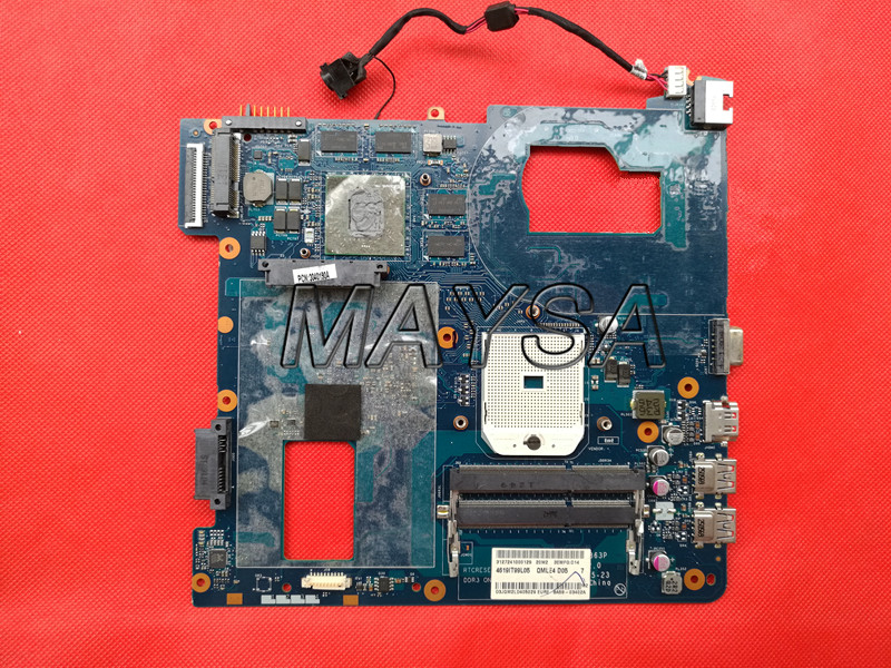 System Board QMLE4 LA-8863P BA59-03567A HD7600 Fit For Samsung NP355 NP355C4C NP355V5C Notebook PC Motherboard, Socket SF1