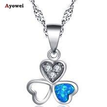 Ayowei для лучшего друга подарок белый кристалл Синий огненный