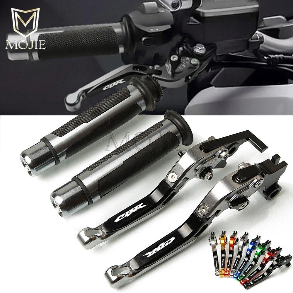 Motorcycle CNC Adjustable Foldable Extending Brake Clutch Lever Handle Grips For Honda CBR250R CBR 250R 250 R 2011-2013 2012