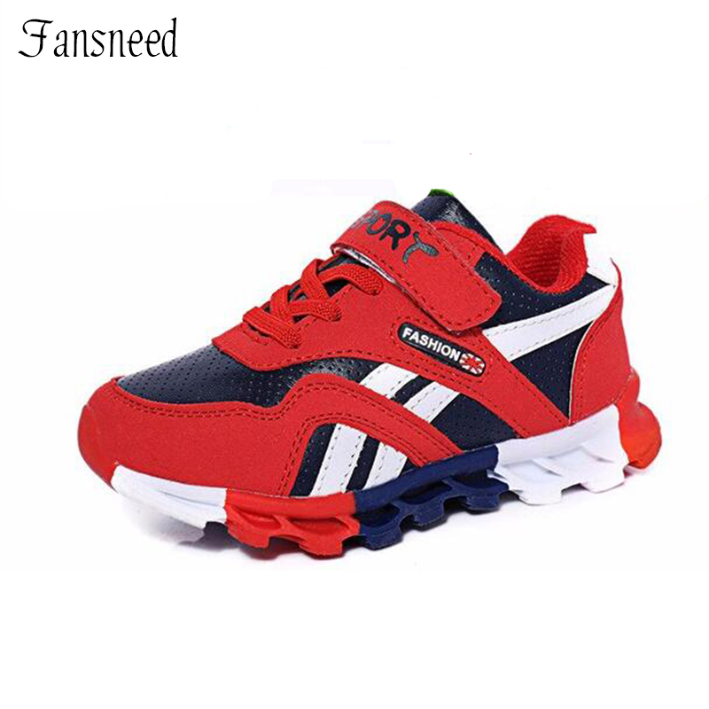 2016 autumn and winter children boys sports shoes girls casual shoes breathable running shoes
