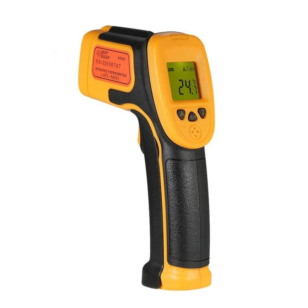 AS530 handheld non contact industrial infrared thermometer high precision electronic thermometer temperature gun