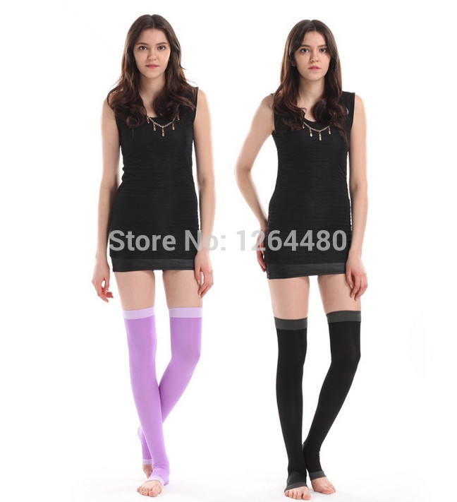 420d Compression Stockings Legs Anti Varicose Fat Burning Stovepipe Sexy Tights Women Health Stockings Sleeping Stockings S6067 Relieving Heat And Thirst. Underwear & Sleepwears Women's Socks & Hosiery