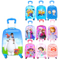 Fashion Hot shop 18 inch cute travel suitcases  luggage for gilrs and children Cartoon trolley Traveller Pull Rod Trunk
