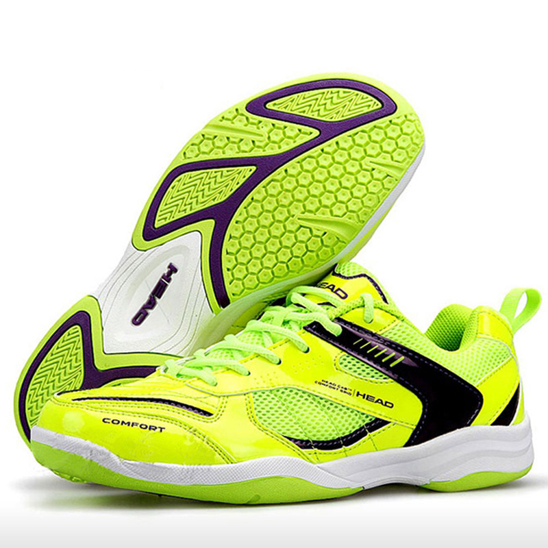 HEAD Men's Badminton Shoes Breathable Non Slip Brand Original Tennis Shoes Sneakers Female Sport Badminton Shoes