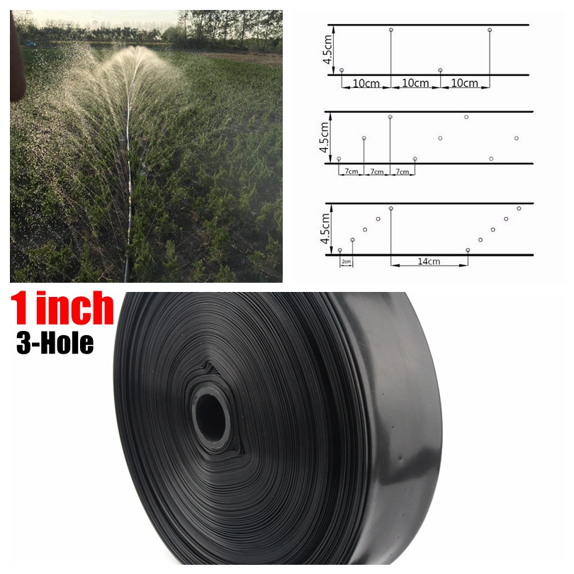 200m 1 N45 3 Hole Micro Irrigation Drip Tape Agricultural Irrigation Drip Hose Farm Geenhouse Water